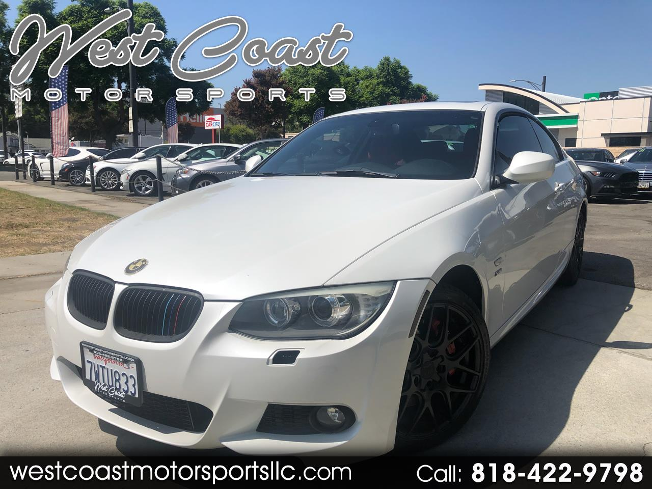2012 BMW 3-Series 335I XDrive Coupe M sport