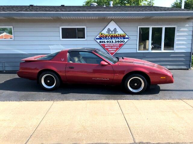 1991 Pontiac Firebird Formula Coupe