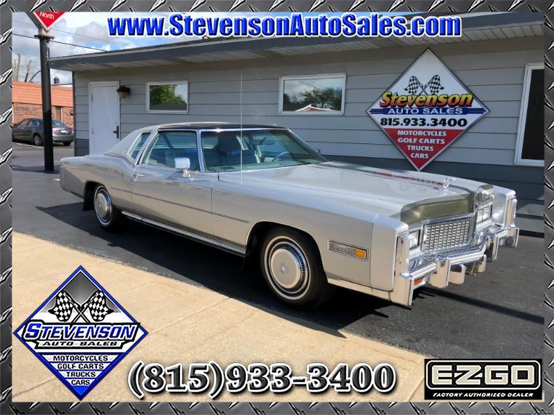 1976 Cadillac Eldorado 2dr Coupe