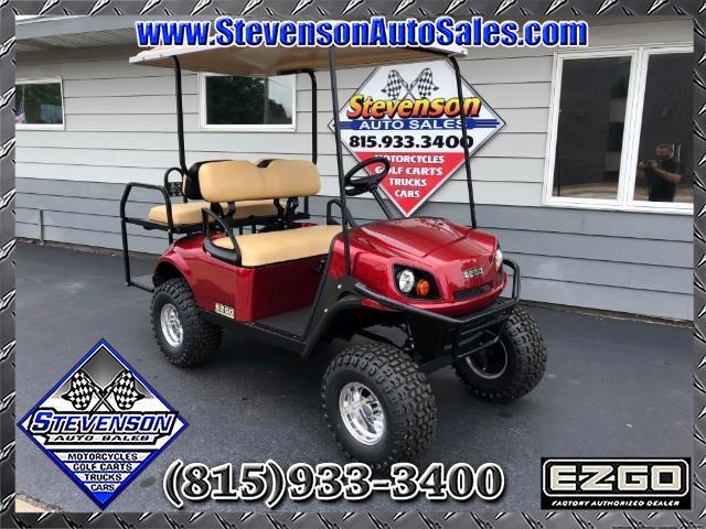 2018 EZGO Express S4 Lifted Golf Cart