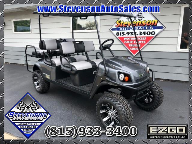 2018 EZGO Express L6 Lifted Limo Golf Cart