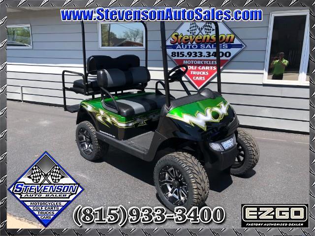 2014 EZ-GO RXV Custom Electric Lifted Golf Cart