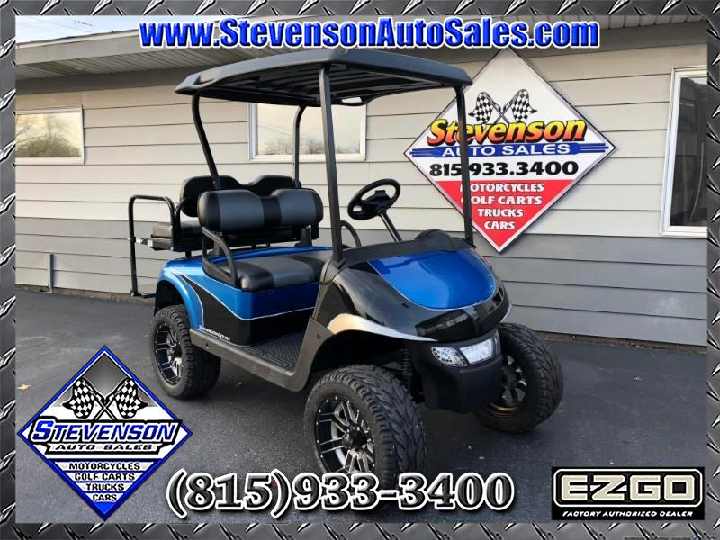 2013 EZGO RXV Custom Electric Lifted Golf Cart