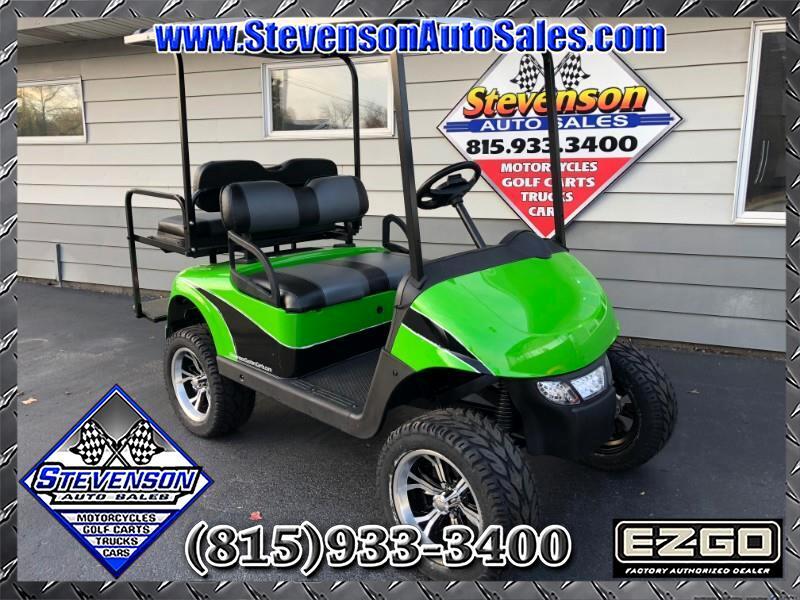 2013 EZGO RXV Custom Electric Lifted Golf Cart