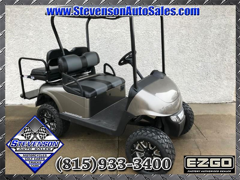2013 EZGO RXV Custom Lifted Electric Golf Cart