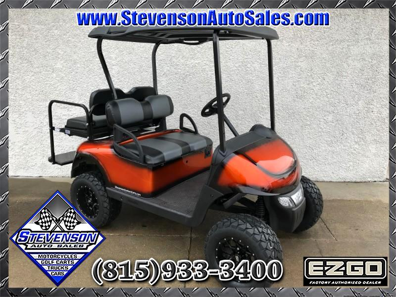2014 EZGO RXV Custom Lifted Electric Golf Cart