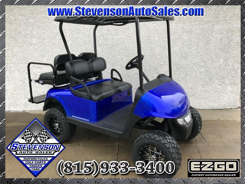 2013 EZGO RXV Custom Lifted Electric Golf Cart