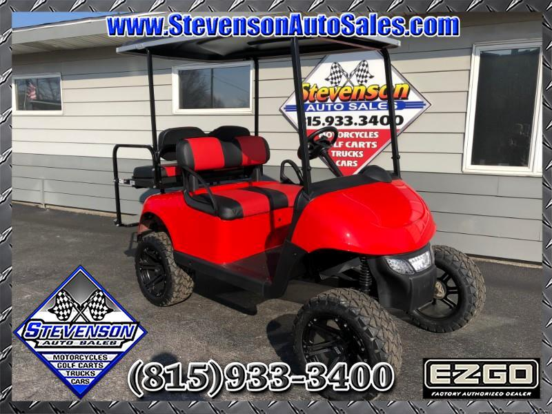 2015 EZGO RXV Custom Lifted Electric Golf Cart