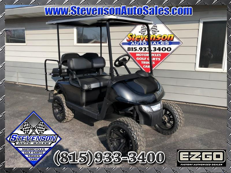 2015 EZGO RXV Custom Electric Lifted Golf Cart