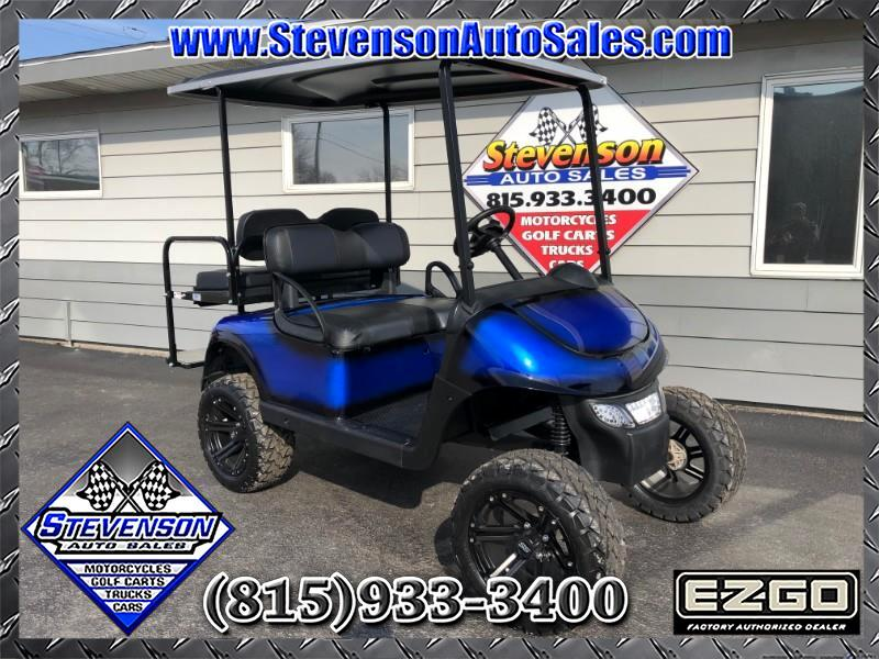 2015 EZGO RXV Custom Lifted Electric Golf Cart