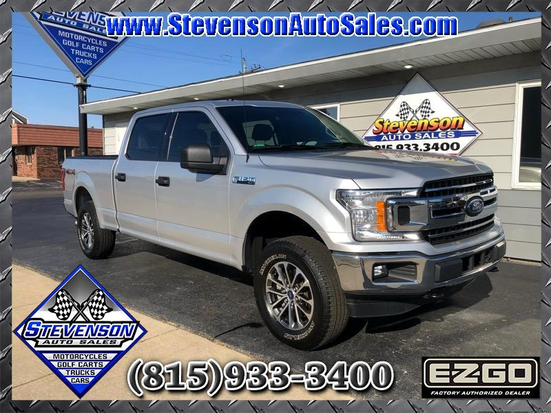 Ford F-150 XLT 4WD SuperCrew 6.5' Box 2018