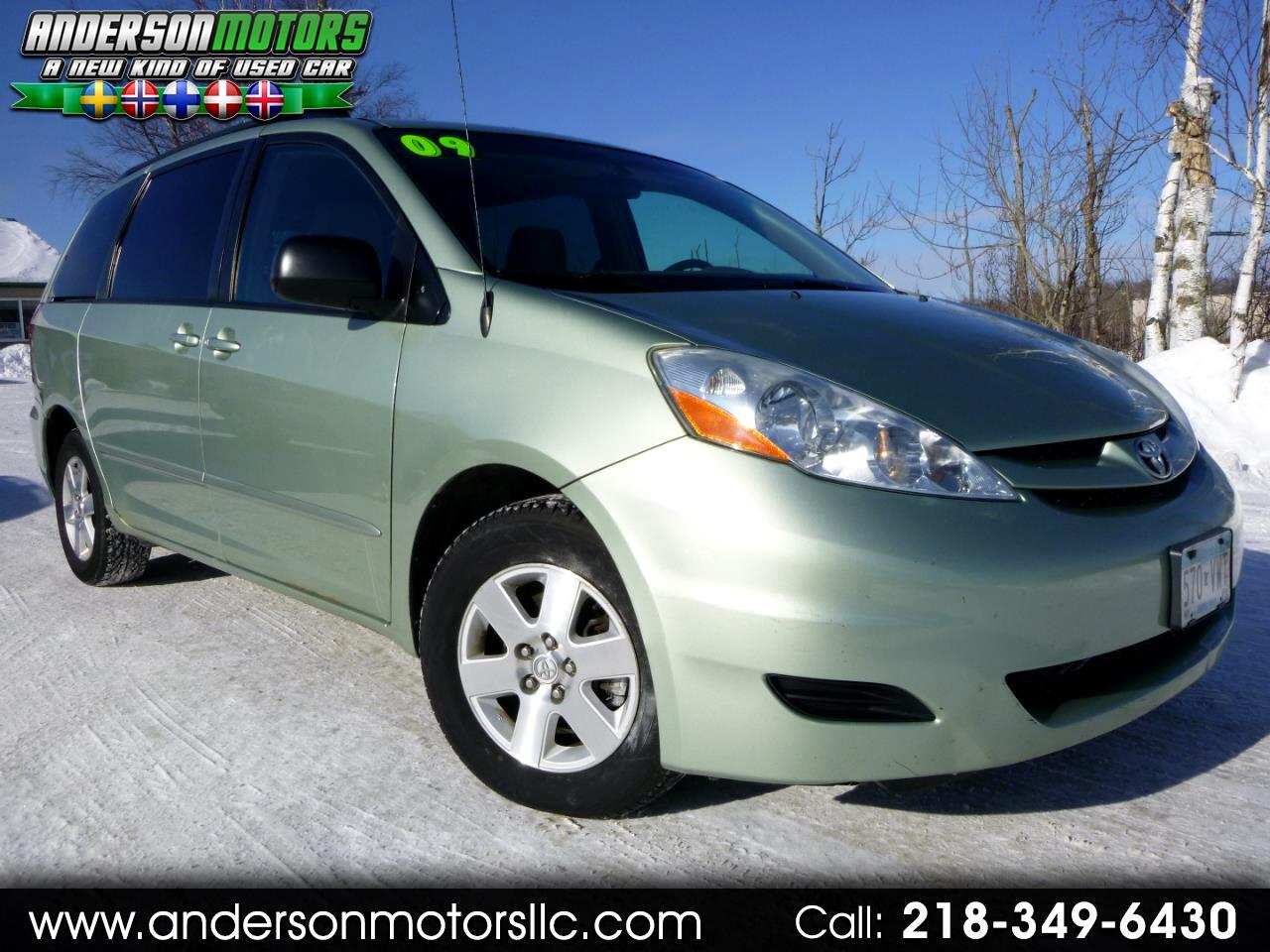 2009 Toyota Sienna LE FWD 7 Passenger