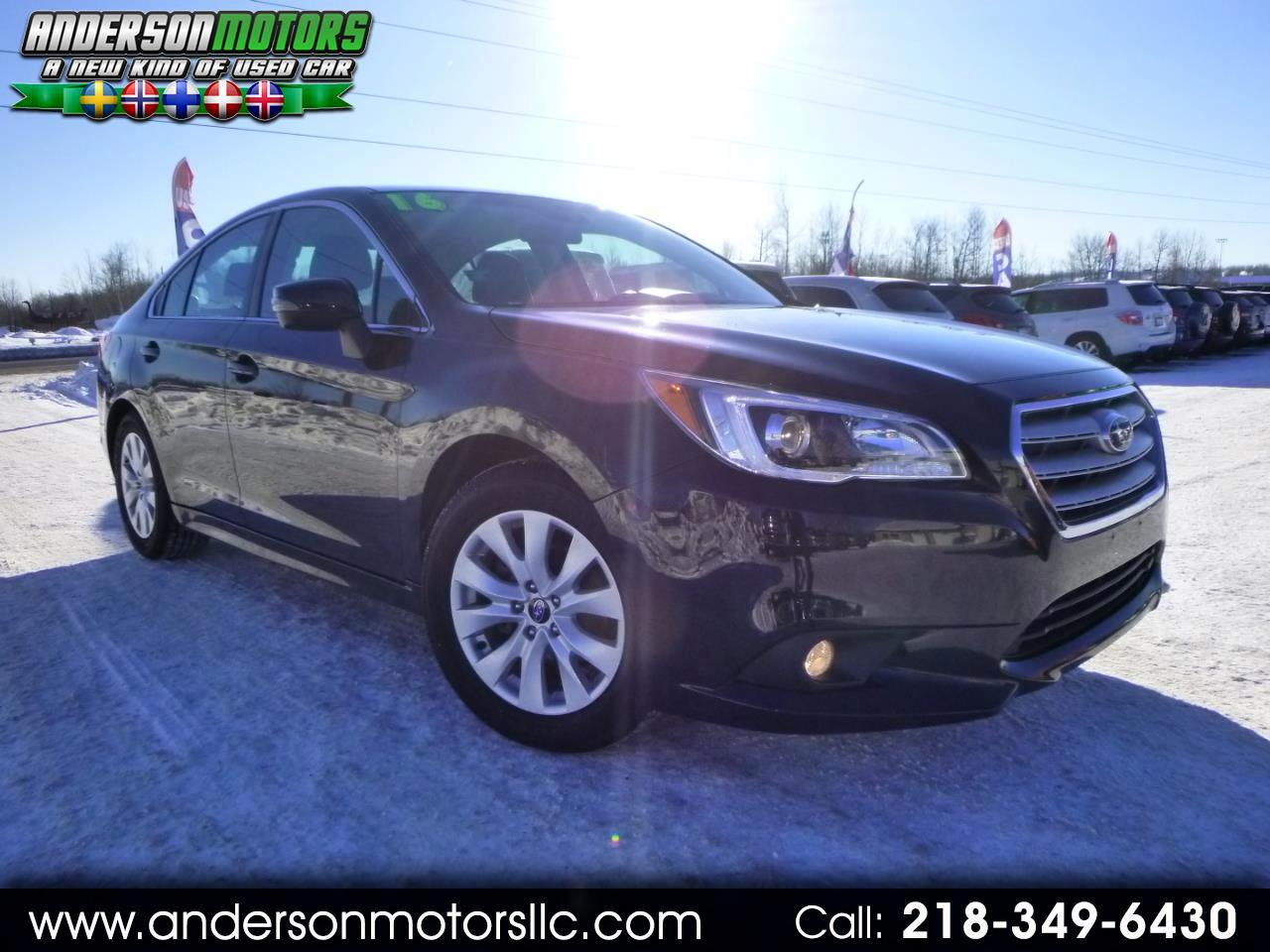 2016 Subaru Legacy 2.5i Premium w/Eyesight