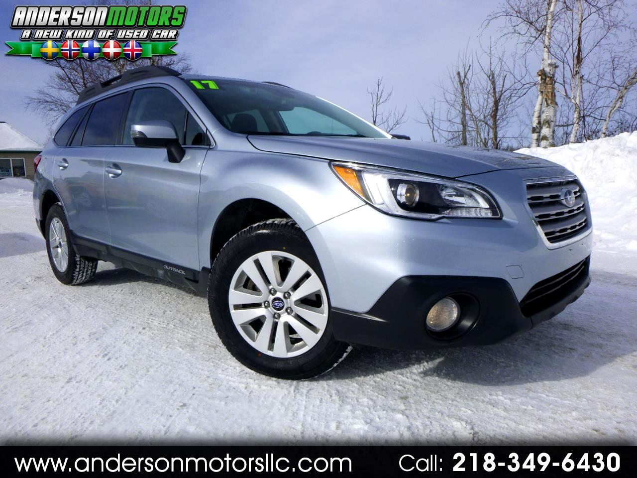 2017 Subaru Outback 2.5I Premium w/Eyesight