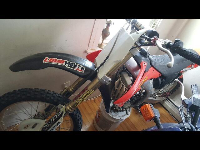2005 Honda CRF450R -