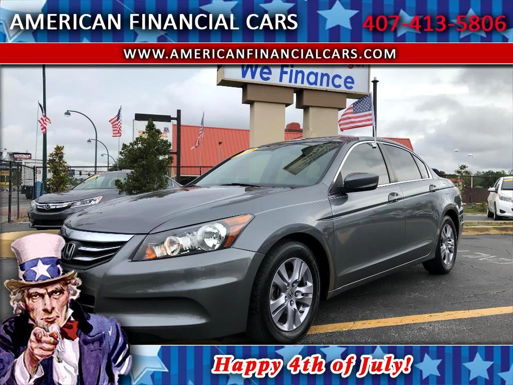 2012 Honda Accord Sdn 4dr I4 Auto SE