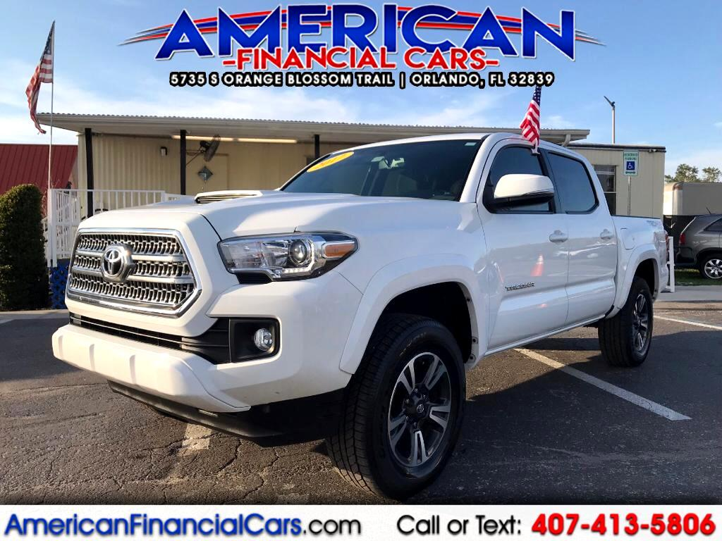 2017 Toyota Tacoma TRD Sport Double Cab 5' Bed V6 4x4 AT (Natl)