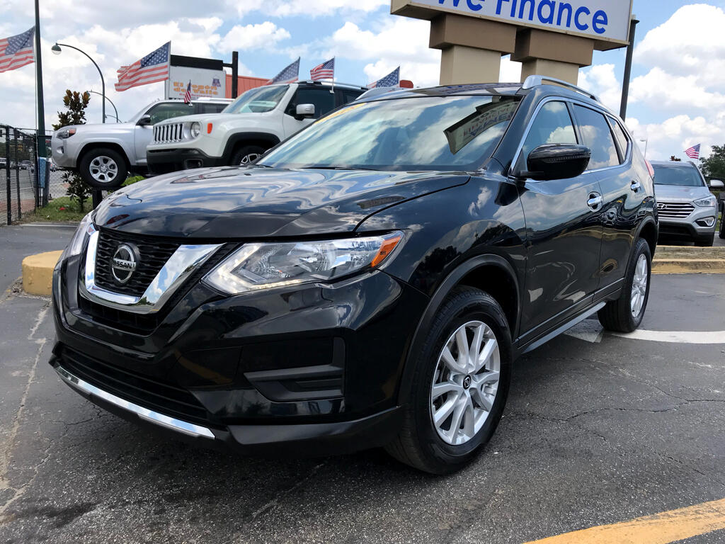 2018 Nissan Rogue AWD SV