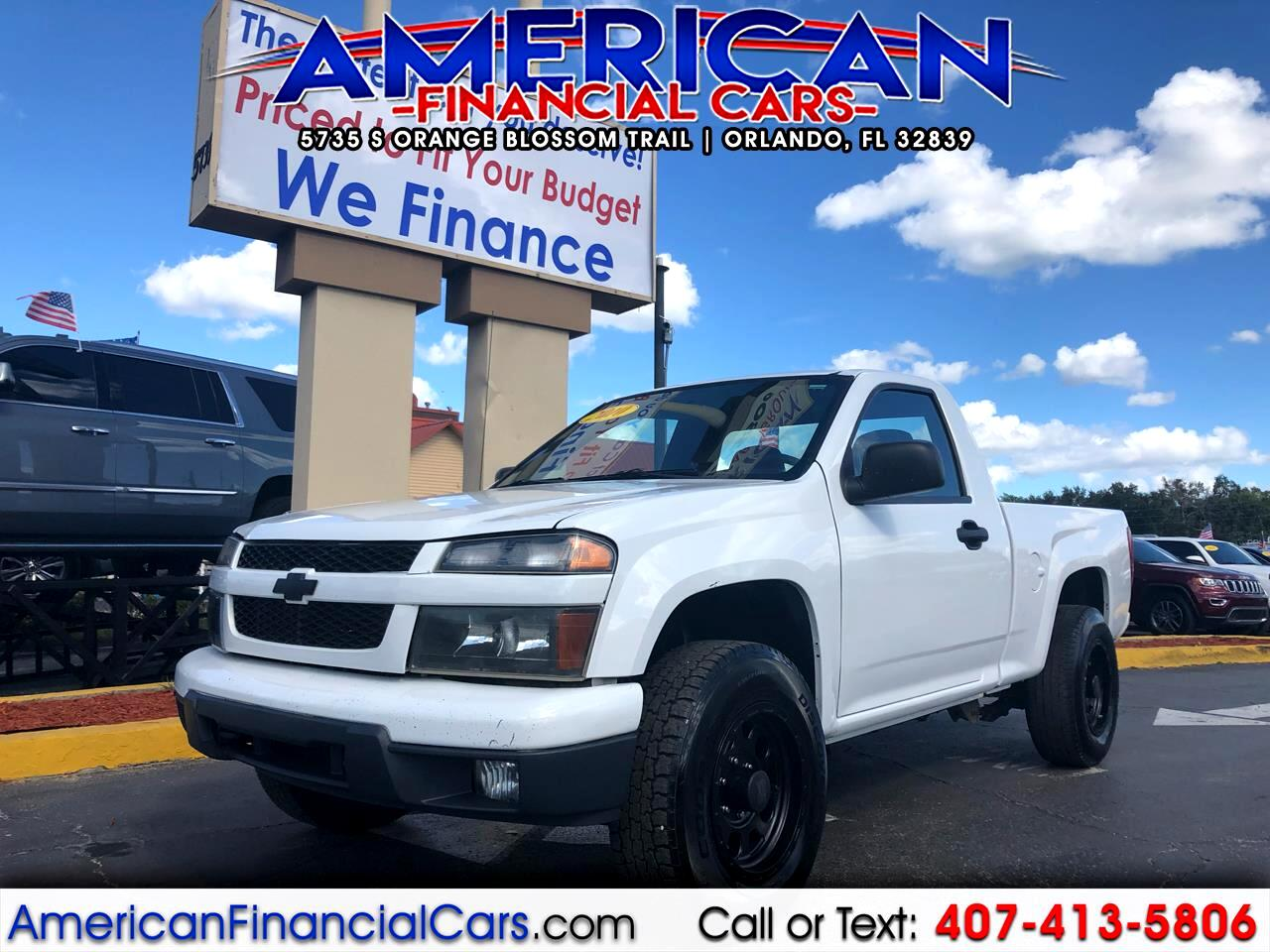 2010 Chevrolet Colorado 4WD Reg Cab 111.2
