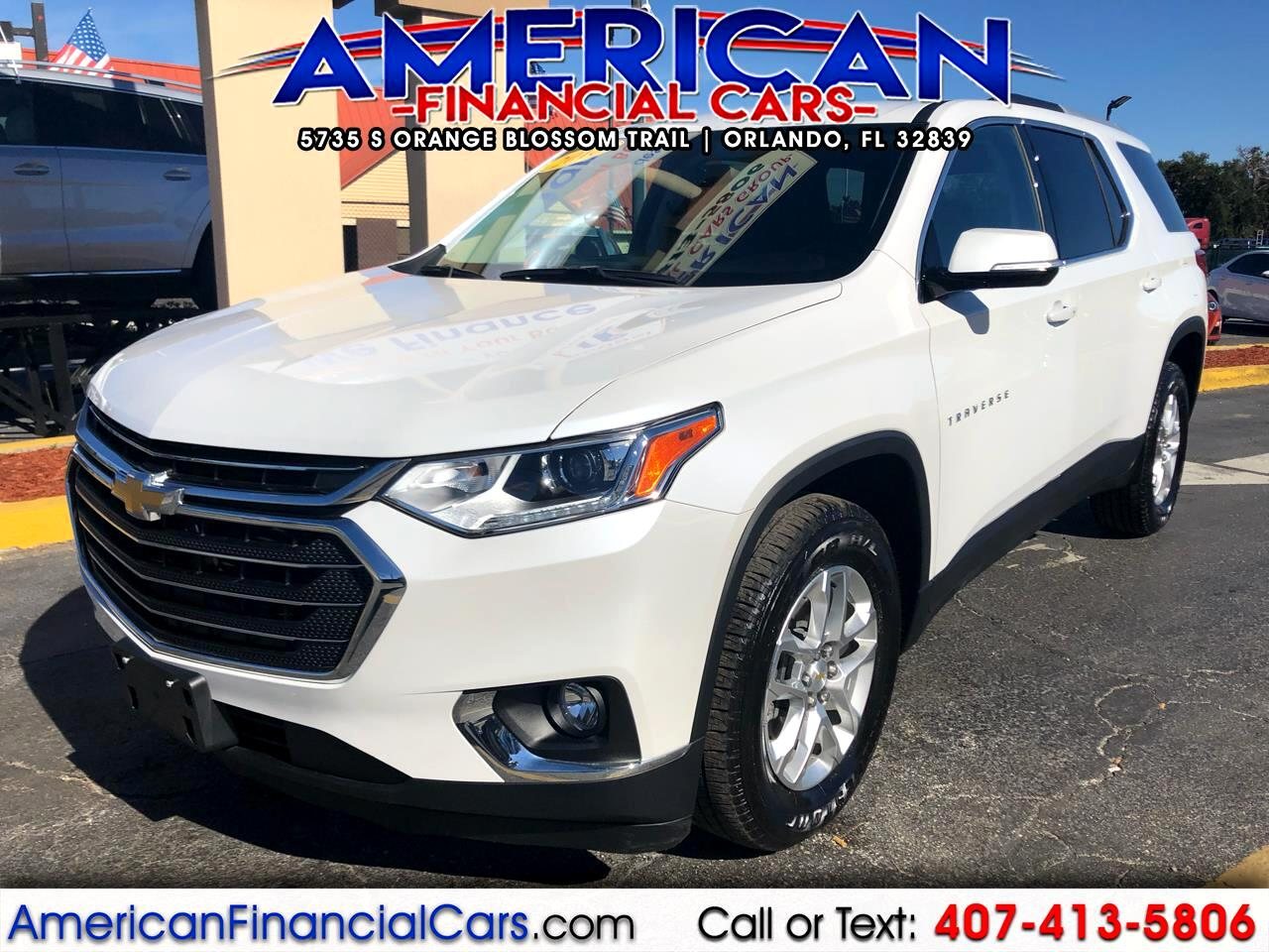 2018 Chevrolet Traverse FWD 4dr LT Cloth w/1LT
