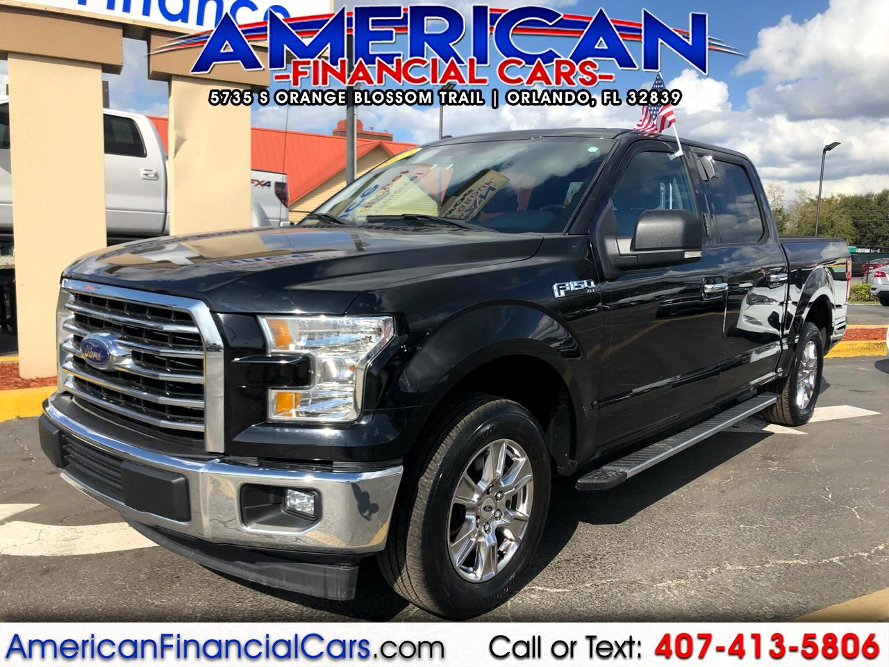 2017 Ford F-150 2WD SuperCrew 145