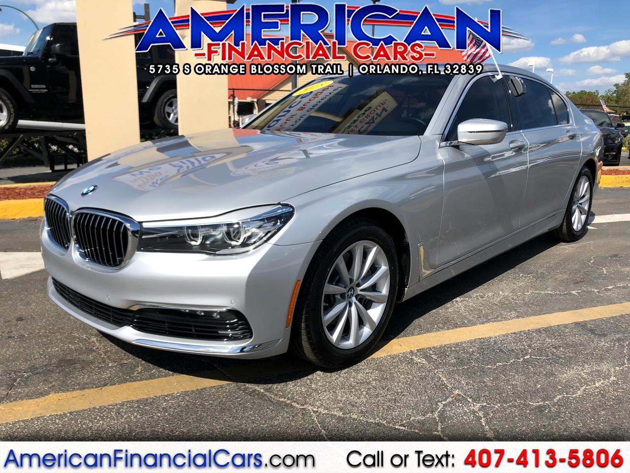 2018 BMW 7 Series 740i Sedan