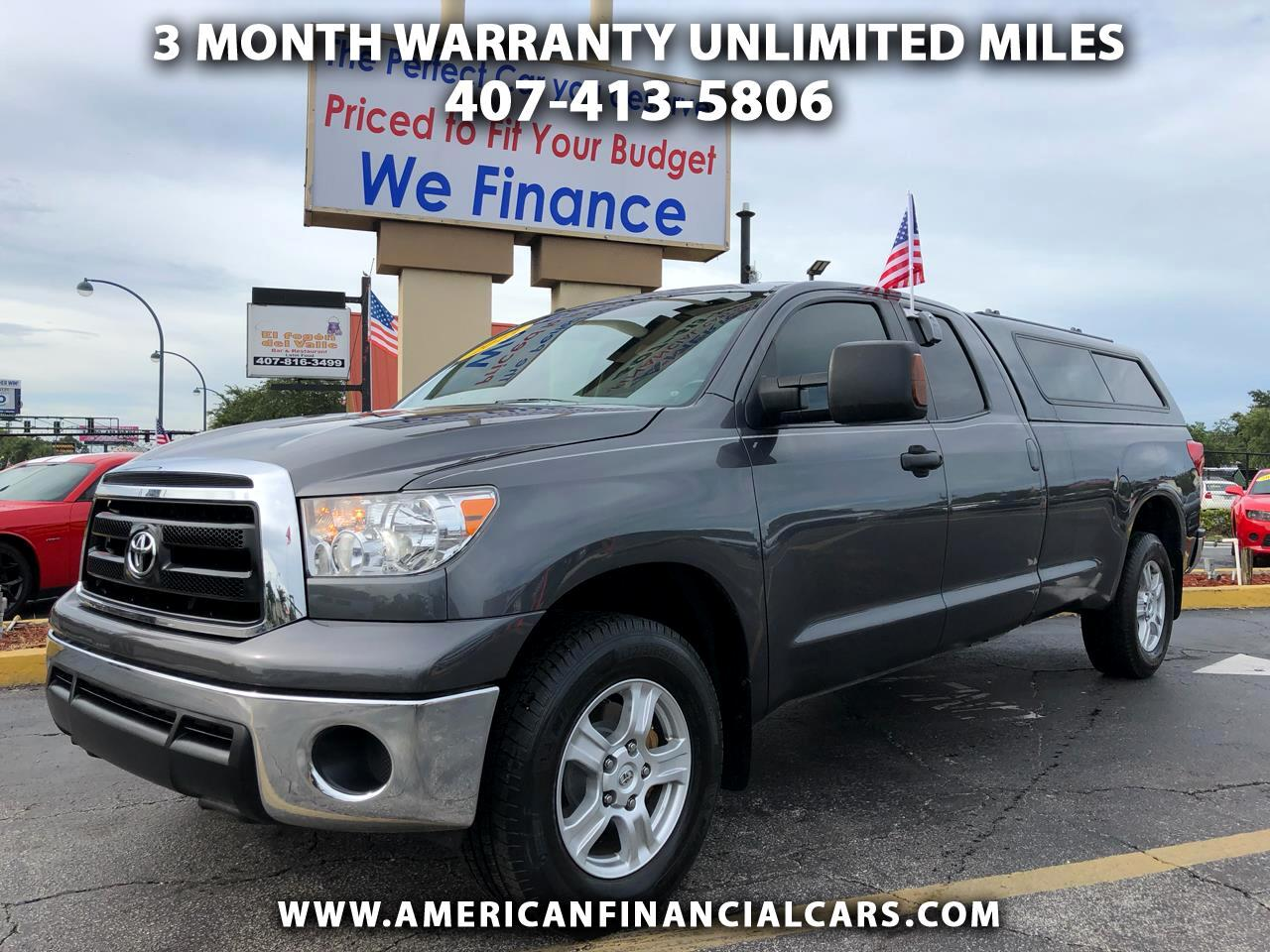 2013 Toyota Tundra 4WD Truck Double Cab LB 5.7L FFV V8 6-Spd AT (Natl)