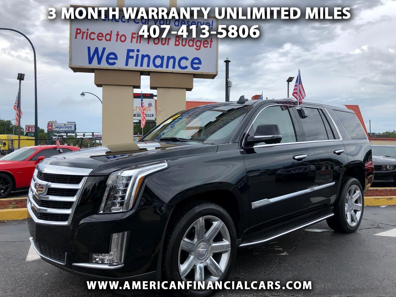 Buy Here Pay Here Orlando >> Buy Here Pay Here 2018 Cadillac Escalade For Sale In Orlando