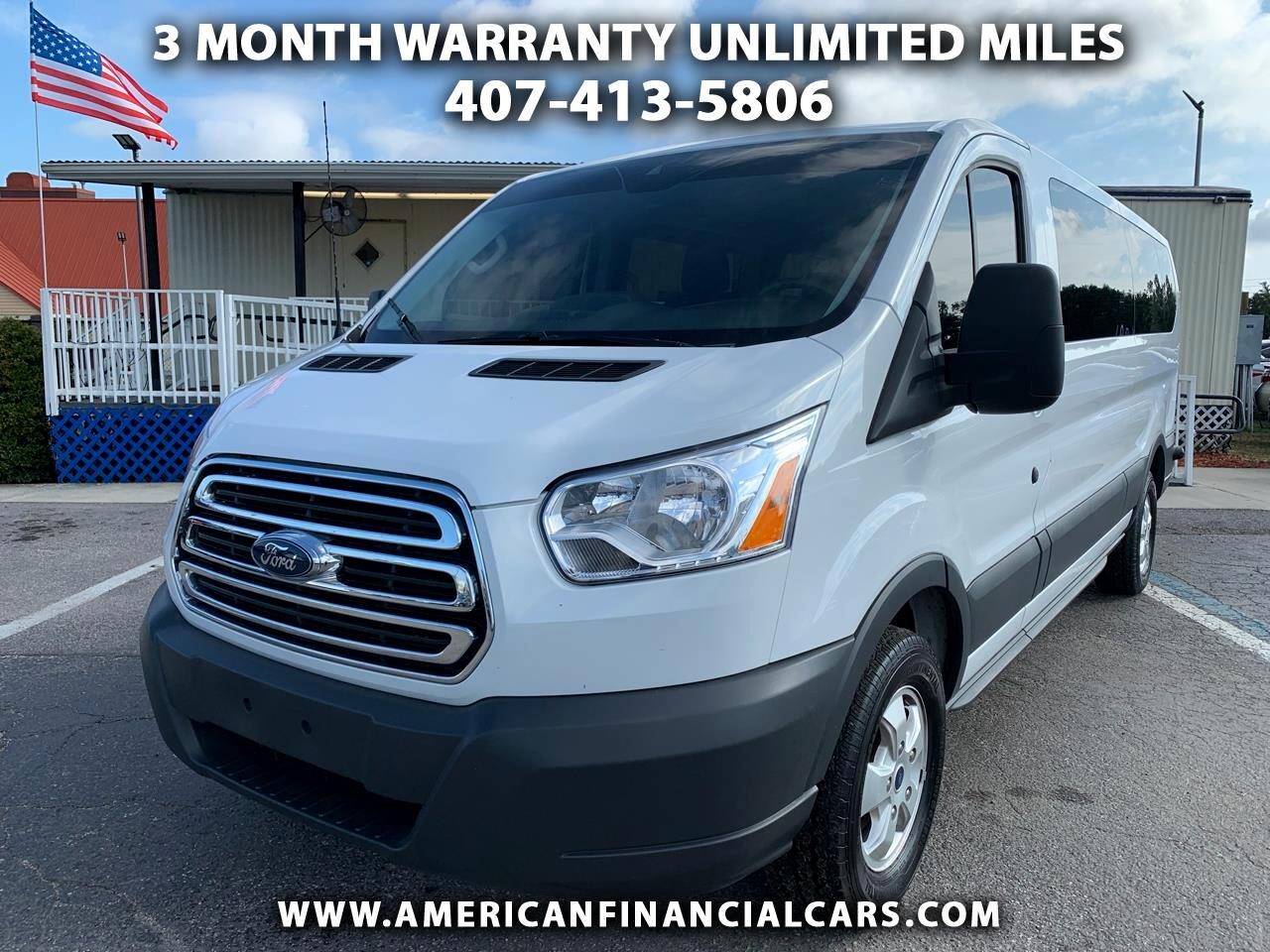 "2018 Ford Transit Passenger Wagon T-350 148"" Low Roof XLT Sliding RH Dr"