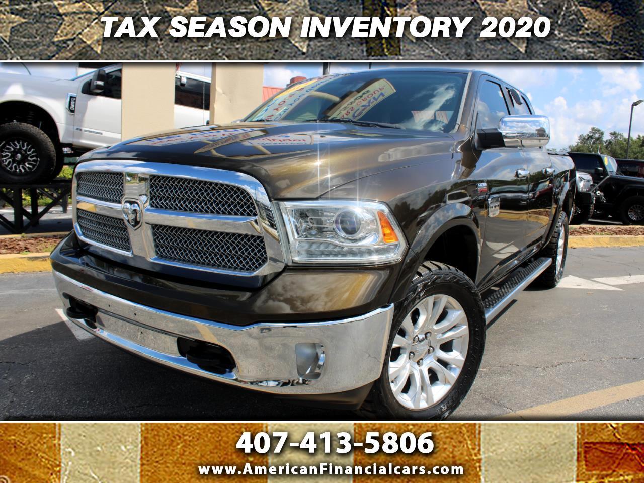 "RAM 1500 4WD Crew Cab 140.5"" Laramie Longhorn Edition 2013"