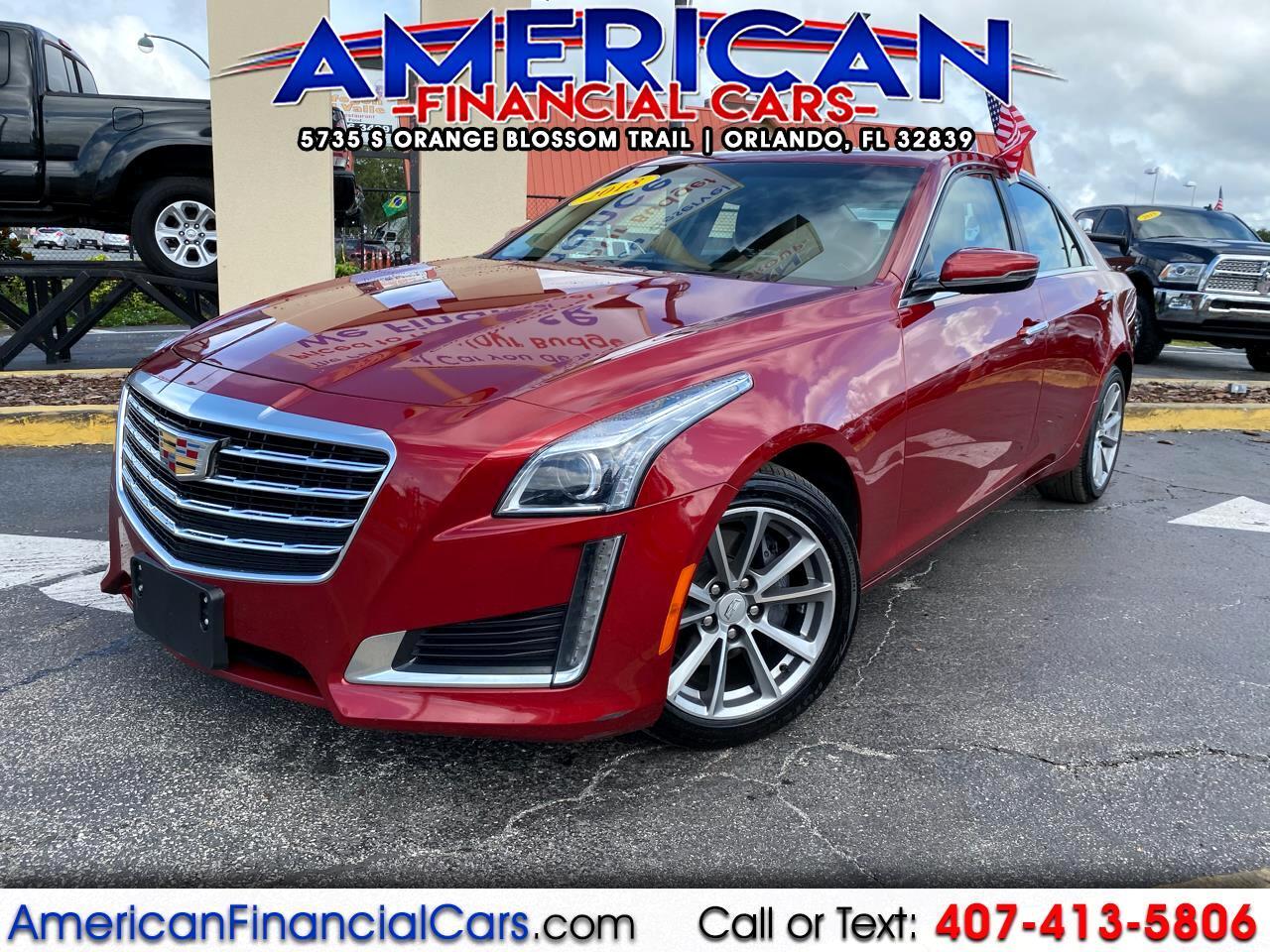 Cadillac CTS Sedan 4dr Sdn 2.0L Turbo Luxury RWD 2018