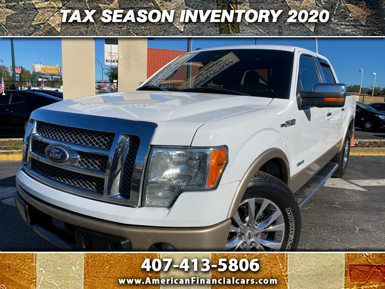 "Ford F-150 2WD SuperCrew 150"" Lariat 2011"