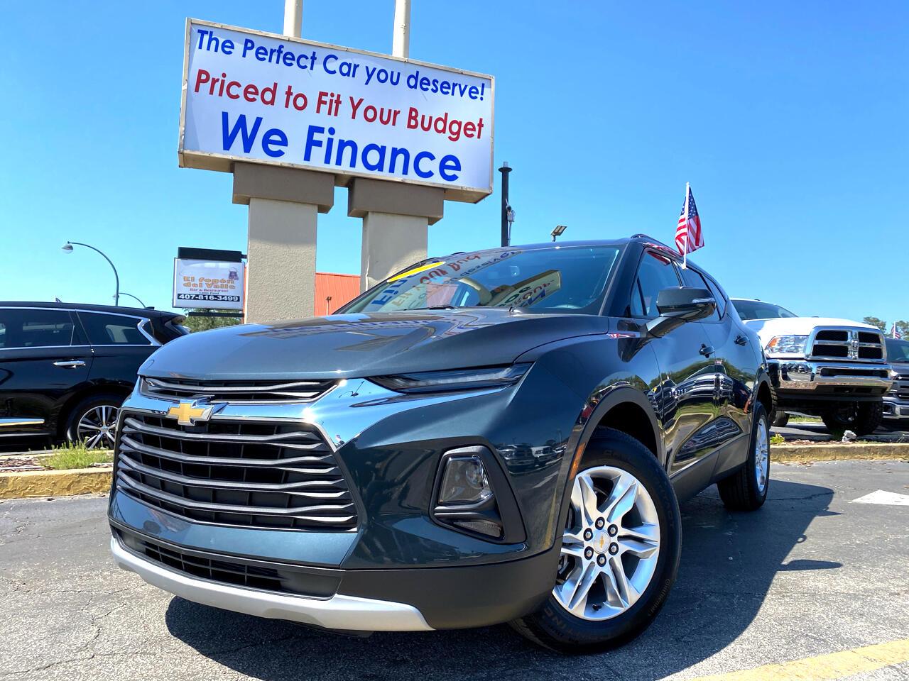 Chevrolet Blazer FWD 4dr LT w/3LT 2020