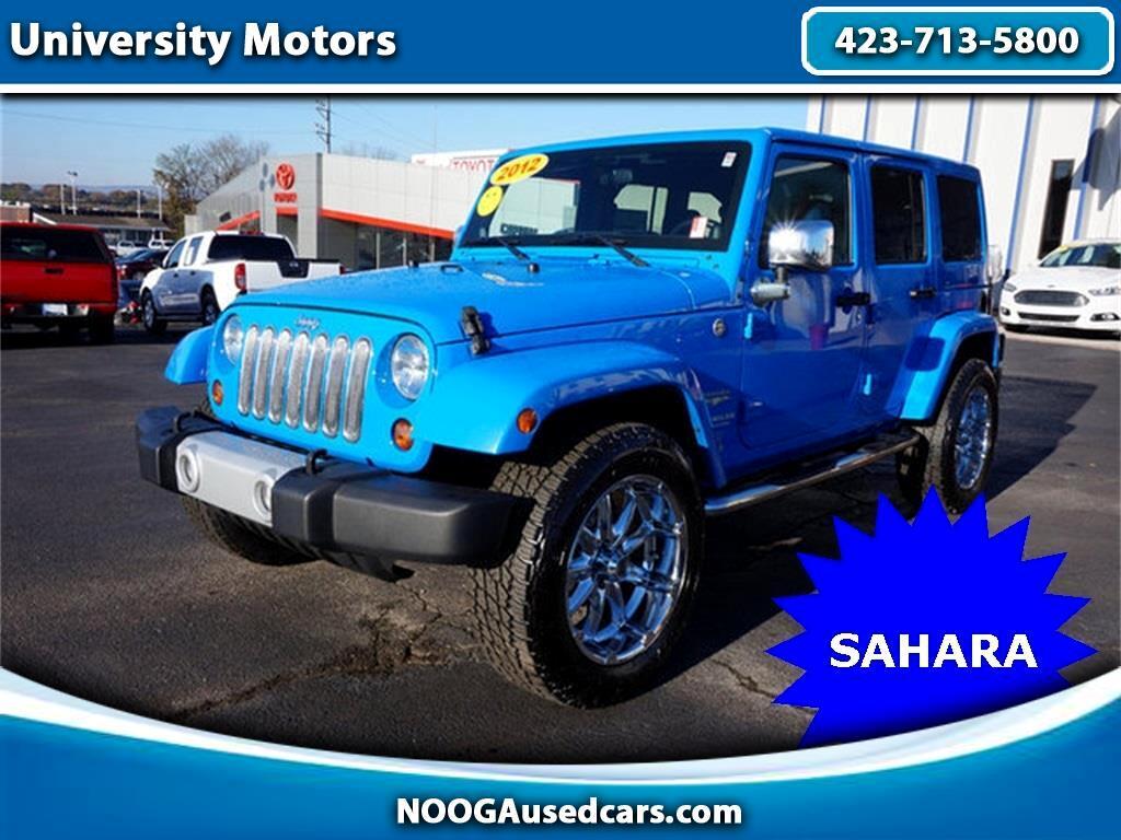 2012 Jeep Wrangler Unlimited Unlimited Sahara