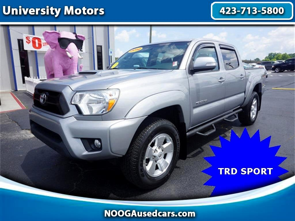 2014 Toyota Tacoma TRD Sport Double Cab 5' Bed V6 4x2 AT (Natl)