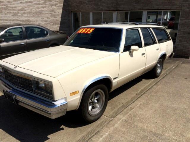 1983 Chevrolet Malibu Classic Wagon Base