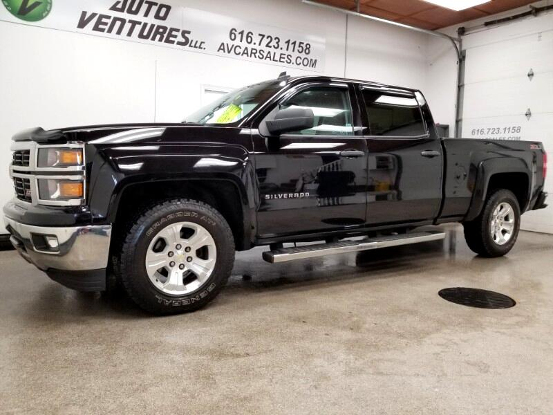 2014 Chevrolet Silverado 1500 LT Z71 Crew Cab 4WD 6.5 ft. Bed