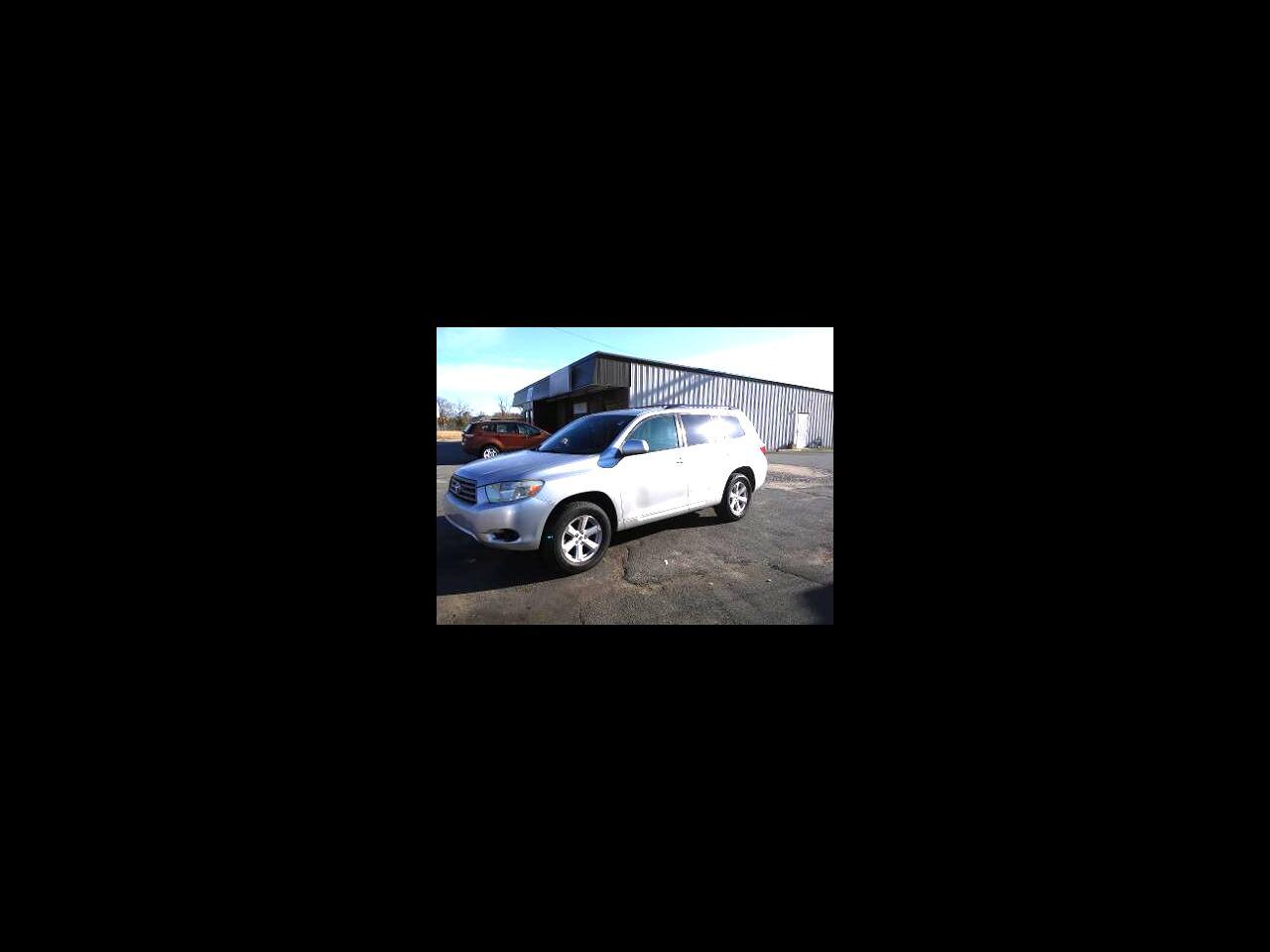 Toyota Highlander FWD 4dr L4  Base (Natl) 2009