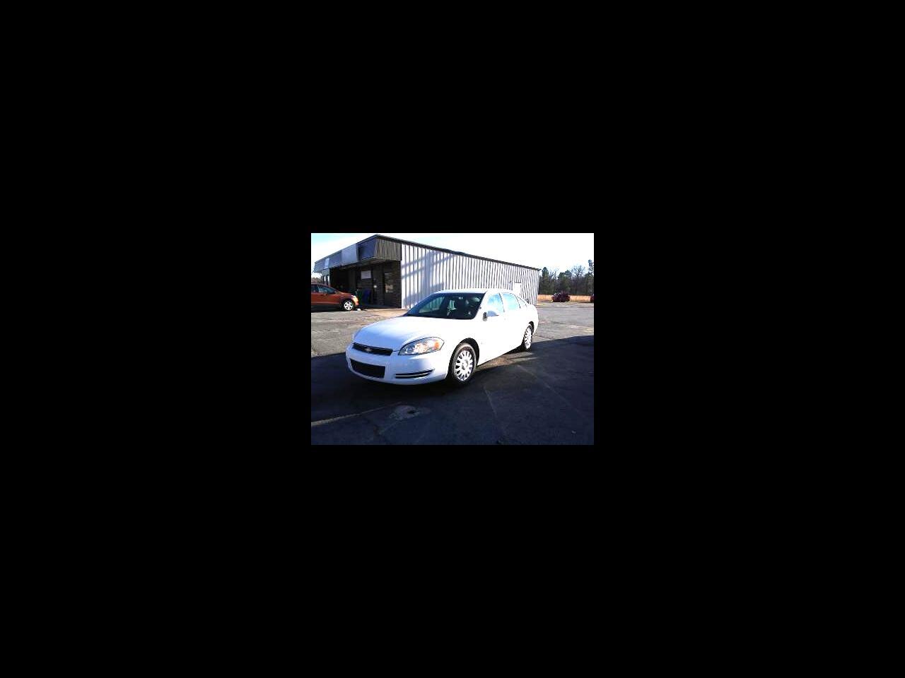 Chevrolet Impala Police 4dr Sdn Police 2009