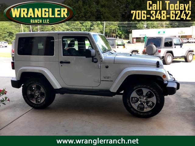2017 Jeep Wrangler Sahara SAHARA