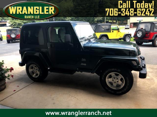 2003 Jeep Wrangler Sahara Sahara