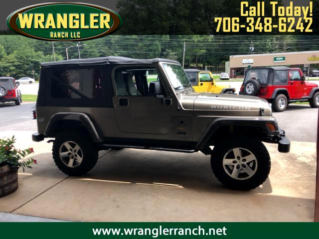 2005 Jeep Wrangler Unlimited Rubicon 4x4