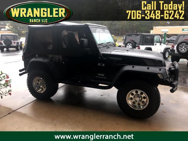 2003 Jeep Wrangler 2dr X