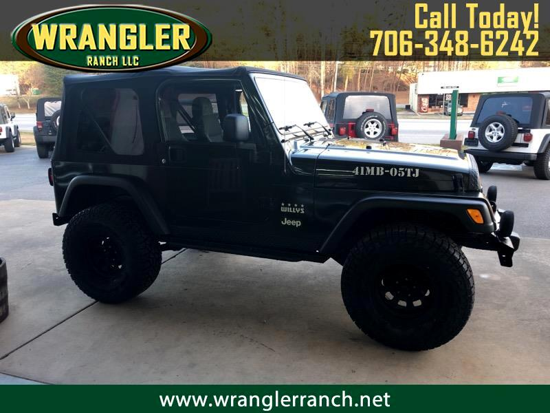 2005 Jeep Wrangler Willys Wheeler 4x4