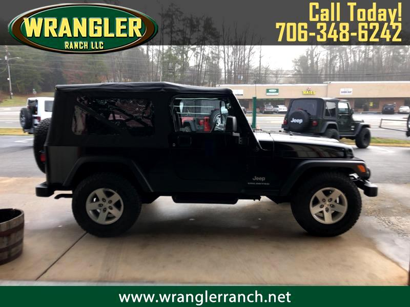 2004 Jeep Wrangler Unlimited Sport