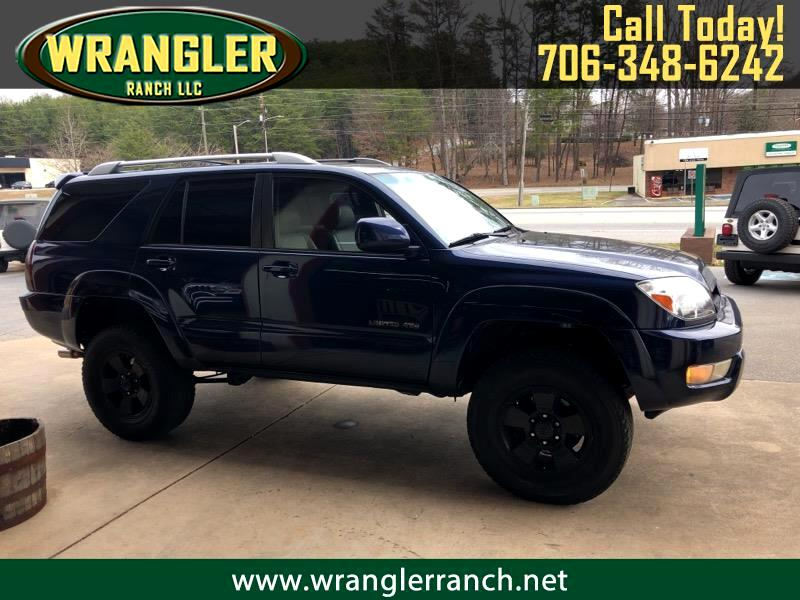 2004 Toyota 4Runner 4dr Limited 3.4L Auto 4WD