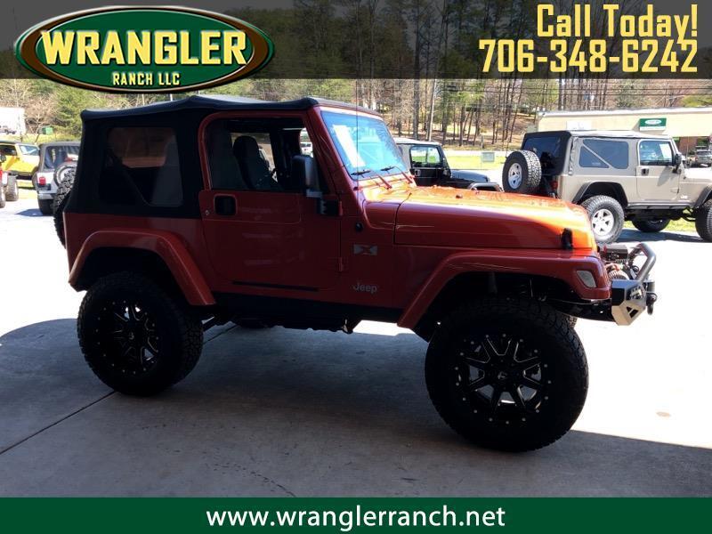 2005 Jeep Wrangler Islander Soft Top