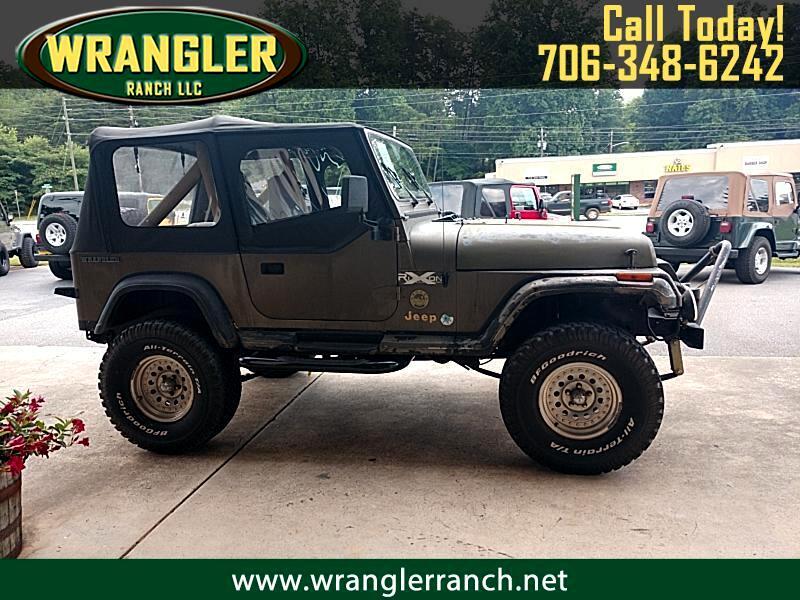 1989 Jeep Wrangler 2dr Sahara