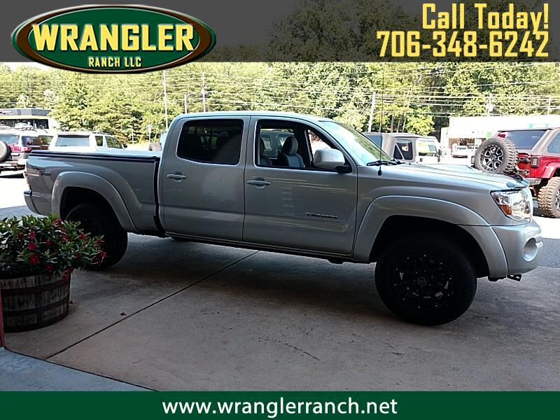 2011 Toyota Tacoma 4WD Double Cab Long Bed