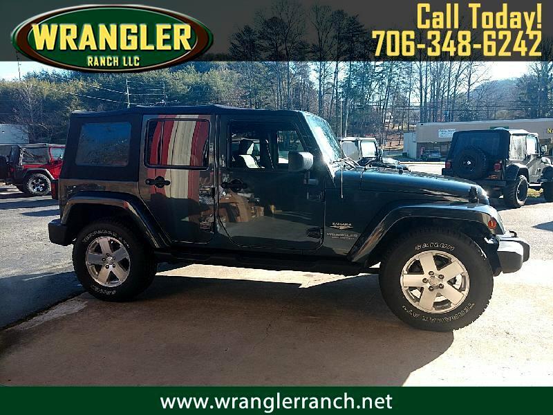 Jeep Wrangler Unlimited Sahara 4WD 2008